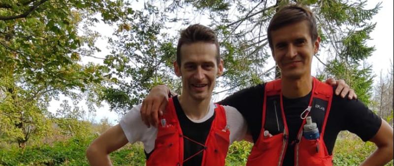 5 Beskydských vrcholů zvládli nejrychleji Hének s Gregorem
