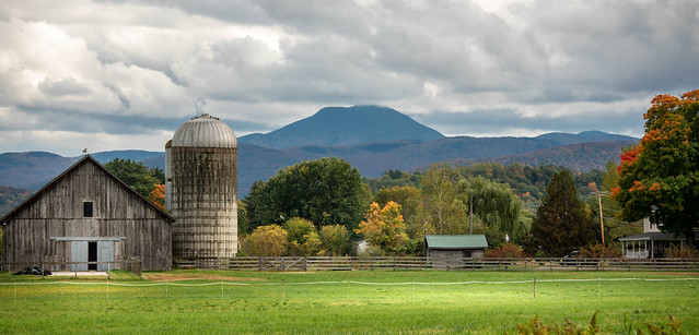 Vermont Autumn Scenery