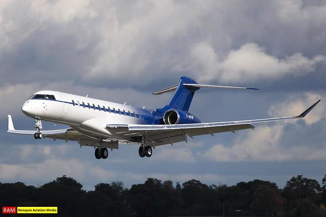 F-HFHP | Bombardier BD700 Global 7500 | Artemis