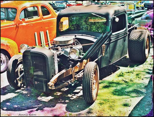 Rat Rod Pickup truck