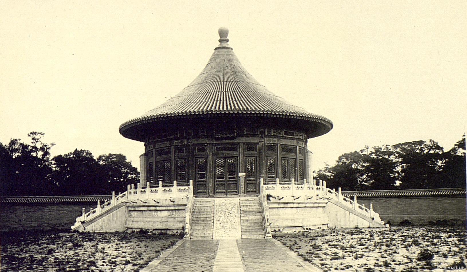 Храм Неба. Круглый павильон Небесного свода