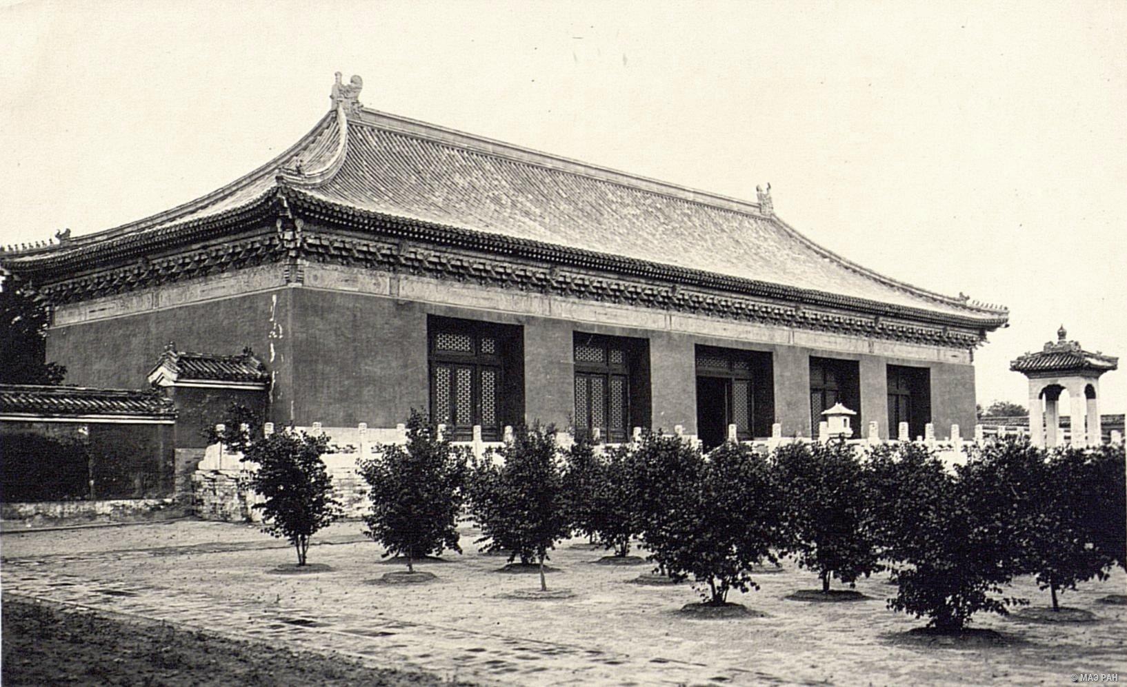 Один из павильонов в Храме Неба