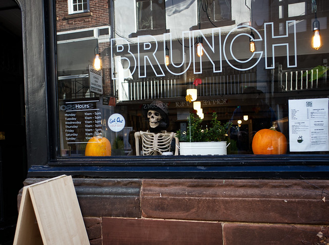 chester city street  images today 11/10/2020