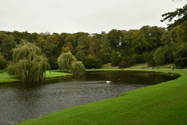 River Skell at Studley Royal Water Garden