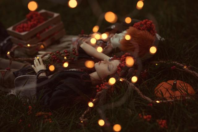 Autumn fireflies I - Samhain - Let's magic!