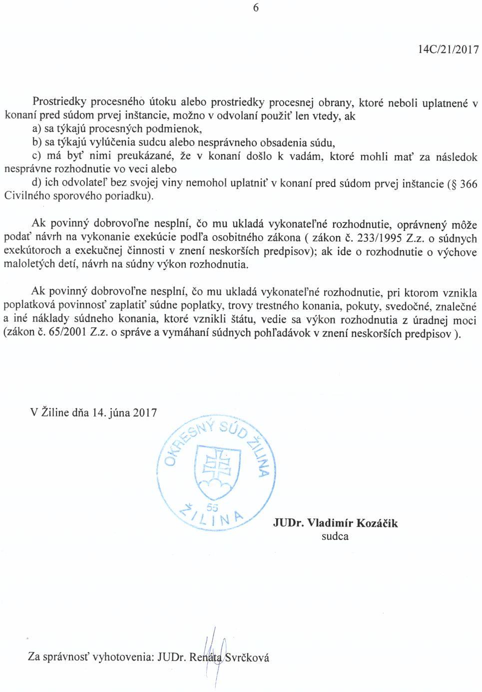 Strana 6 Uznesenia