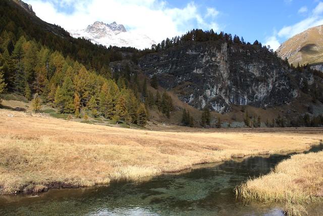 Autumn, Italian Alps.