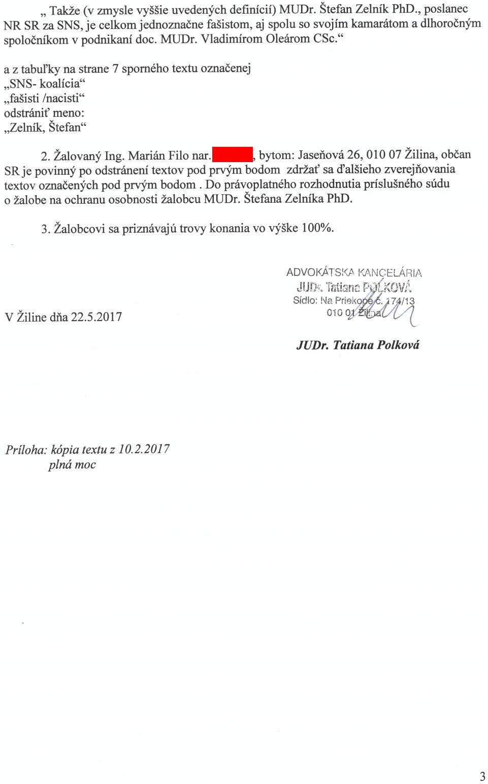 Strana 3 Návrhu