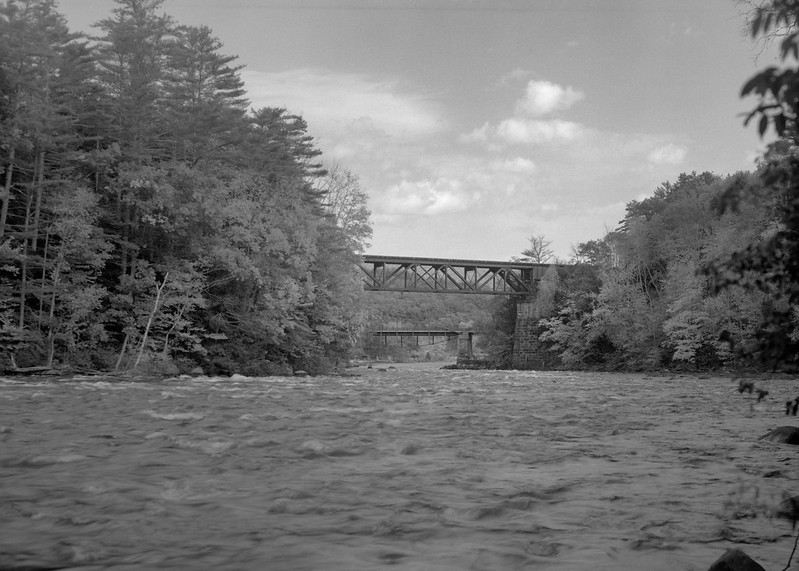 Sacandaga, Historic Parabolic Bridge & RailRoad Bridge