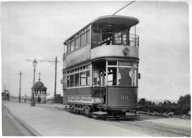 Great Grimsby tram No. 40 @ Kingsway Terminus