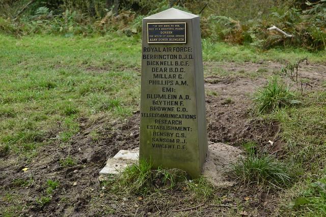 Halifax V9977 Memorial, Welsh Bicknor,
