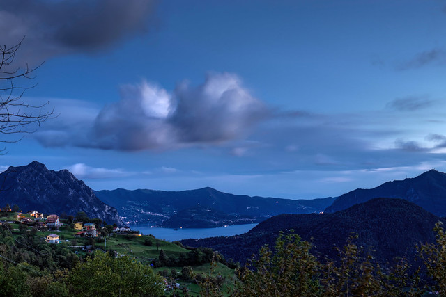 Montisola Blue Hour from Bossico