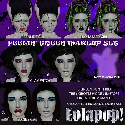 Lolapop-FeelinGreenSetHunt