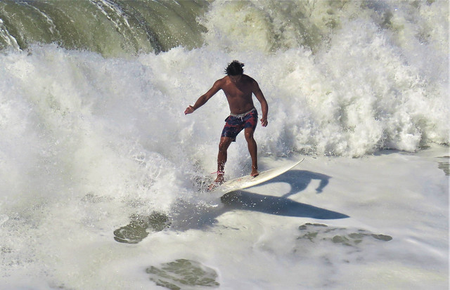 nail the landing, Surfing California