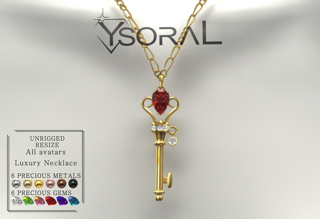 ~~ Ysoral ~~ .:Luxe Necklace Stella:.