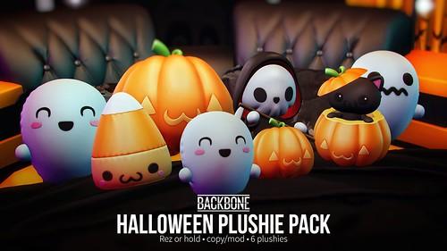 BackBone Halloween Plushie Pack