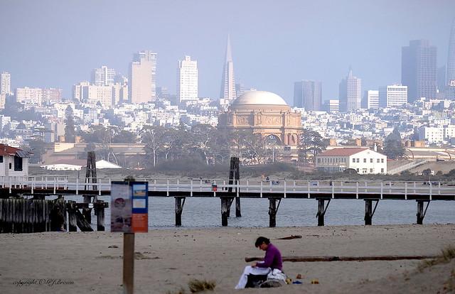 East Beach - S.F. Skyline