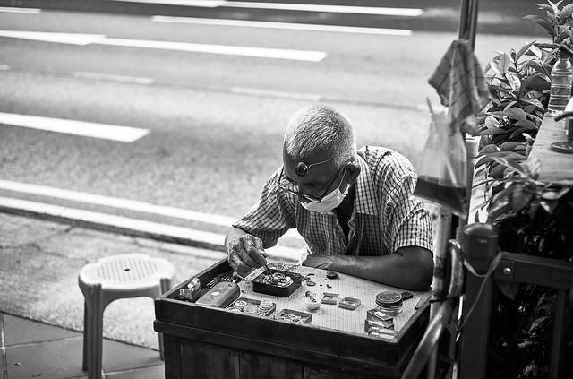Chinatown, Singapore, 2020