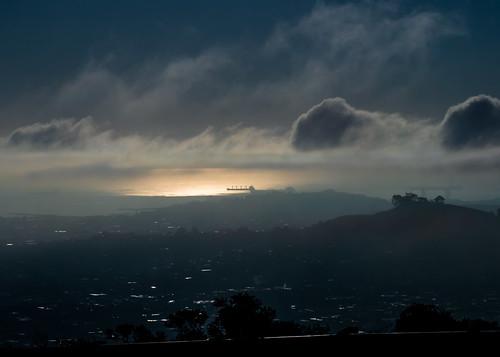 Post sunrise fog run amok