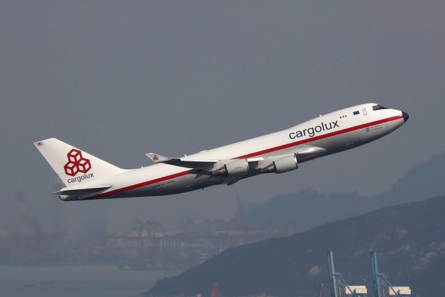 LX-NCL, Boeong 747-400F, Cargolux, Hong Kong