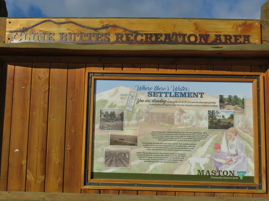 Interpretive sign at the Maston Trailhead