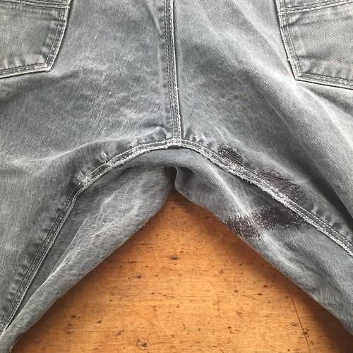 Extensive Repair of Work Pants