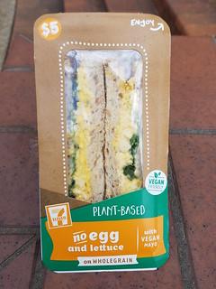 Vegan Egg Salad Sandwich from 7-Eleven