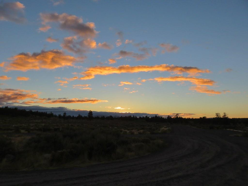 Sunrise at the Maston Trailhead
