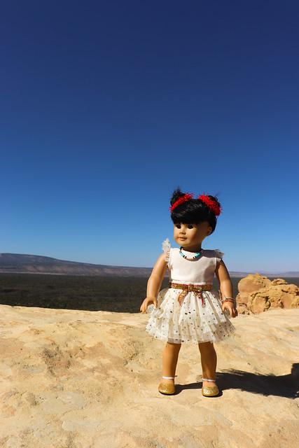 Inky Holiday at Sandstone Bluffs, El Malpais