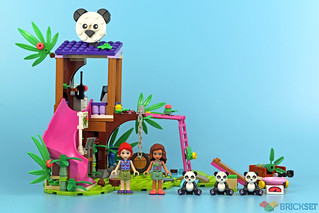 Review: 41422 Panda Jungle Tree House