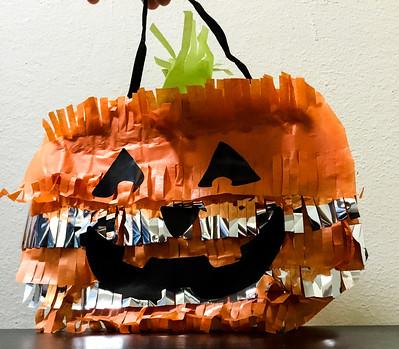 How to Make a Jack O Lantern Pinata Treat Bag
