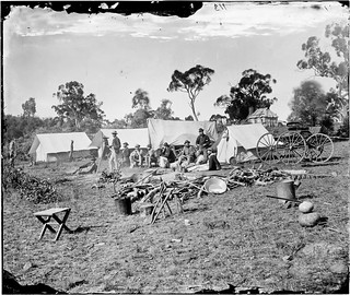 Gold surveying camp near Trunkey, New South Wales, 1872-1874 | by State Library of New South Wales collection