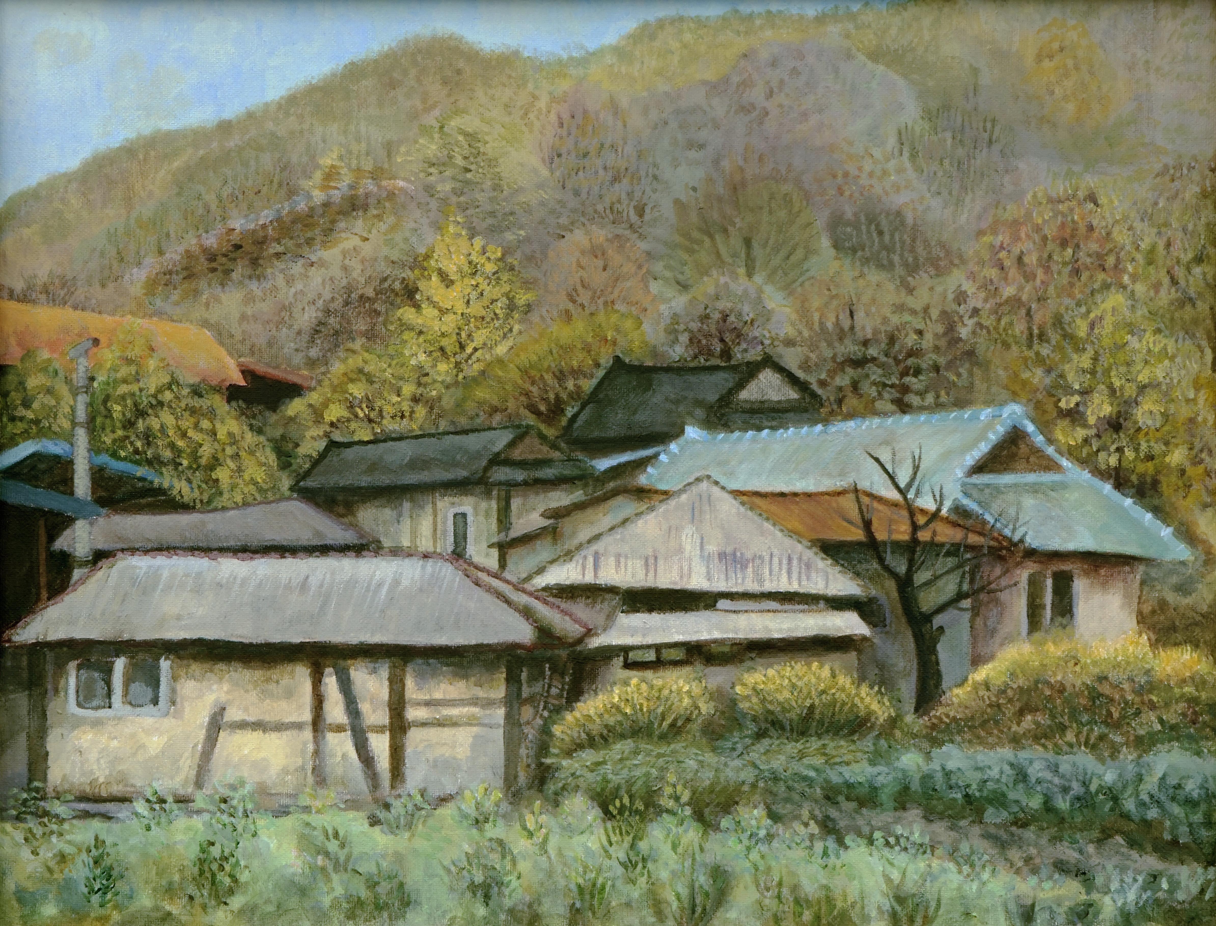 [카페전시]주은경 첫 그림전_나의 다순구미 마을