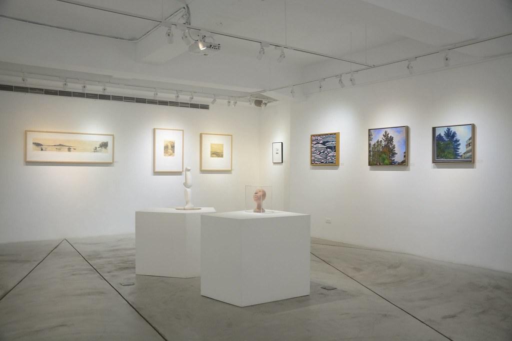 即日起至18日舉辦「綠盟20 破浪前行」藝術公益聯展,義賣所得將全數捐給綠盟。