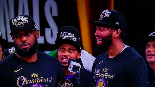 Los Angeles Lakers 2020 NBA Champions