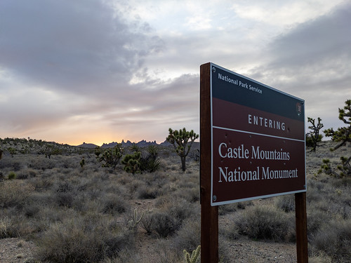 Castle Mountains National Monument | by RuggyBearLA