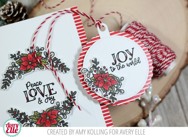 Rustic Wreath Tag