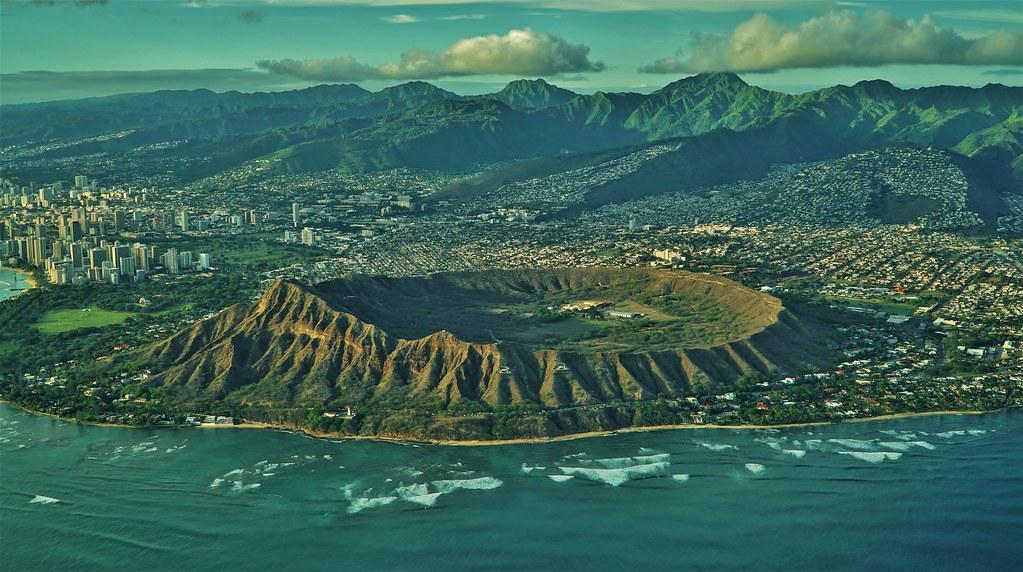 Diamond Head Volcano Hawaii