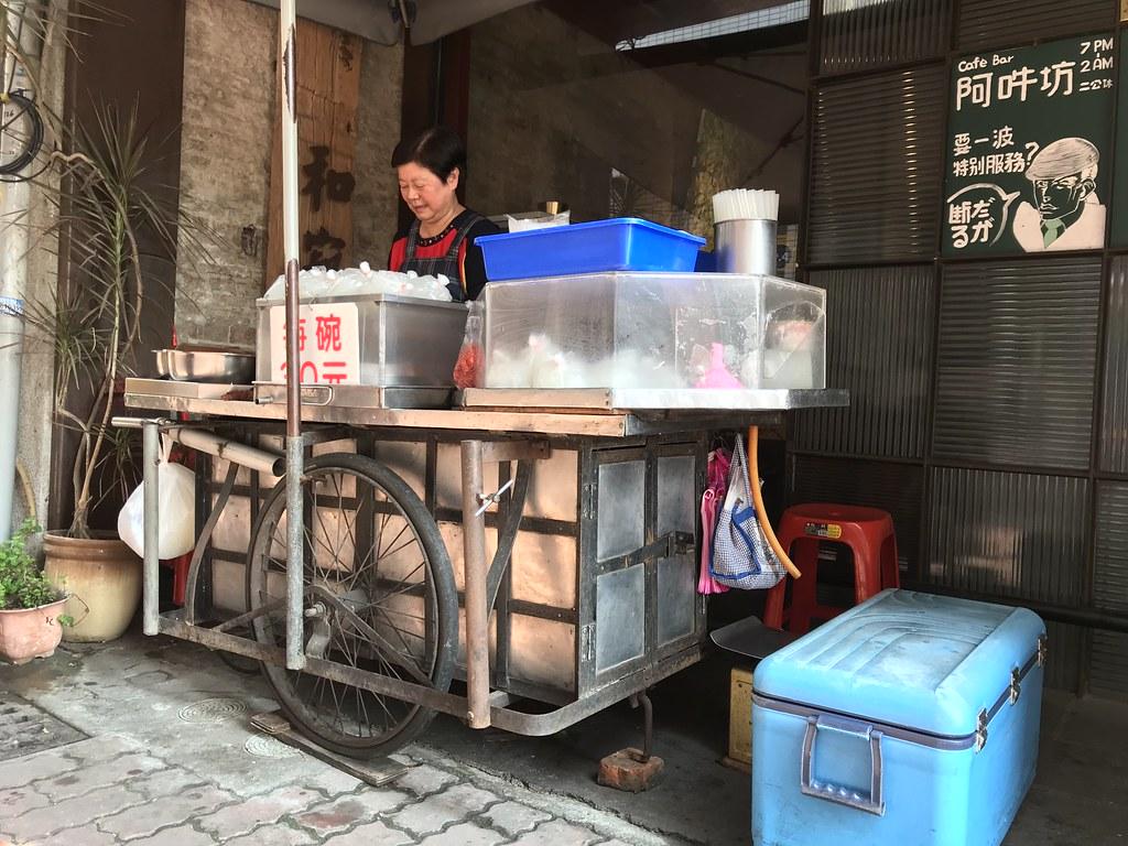 台南宮後街愛玉冰 (1)