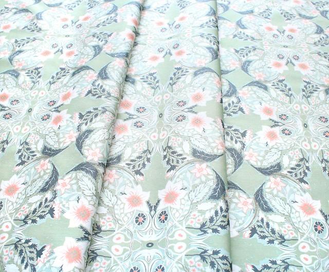 Art Gallery Fabrics Picturesque Ornatile Vert
