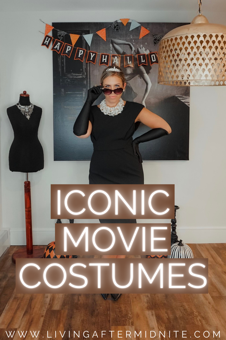 Breakfast At Tiffany's Holly Golightly Costume | Iconic Movie Halloween Costumes | Women Movie Costumes | Iconic Halloween Costumes | Easy Halloween Costumes | Costumes from your Closet | DIY Halloween Costumes Inspired by your Favorite Character