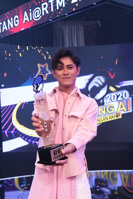 Daniel Sher dari Johor Dinobat Juara Bintang Ai @ RTM 2020