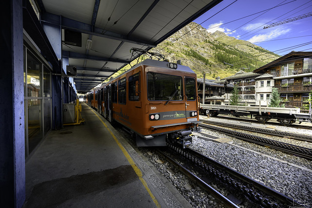 Train to Gornergrat - Zermatt - Wallis - Switzerland