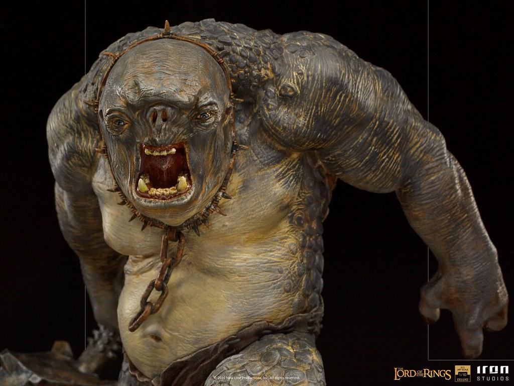 Iron Studios BDS《魔戒》洞穴食人妖 1/10比例全身雕像!肥厚襲來