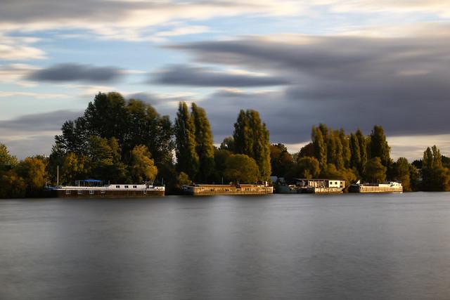 La Seine à Conflans Sainte-Honorine