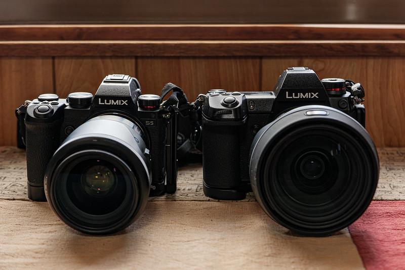 LUMIX S1R & S5