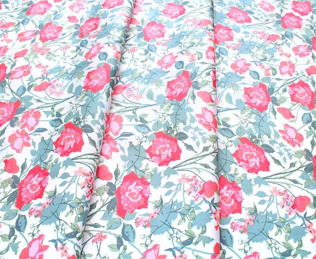 Art Gallery Fabrics Picturesque Rosemantic Trellis Bright