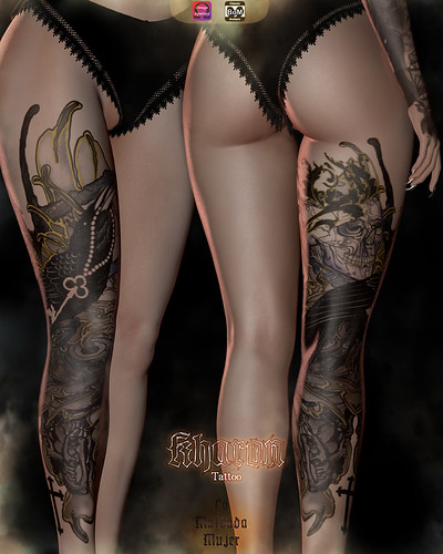 La Malvada Mujer - Kharon Tattoo @ Hallow Manor / Hunt Gift