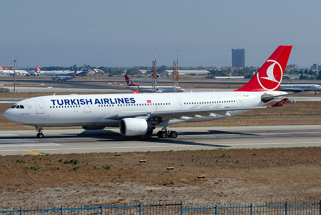 TC-JIR  Turkish Airlines Airbus A330-223