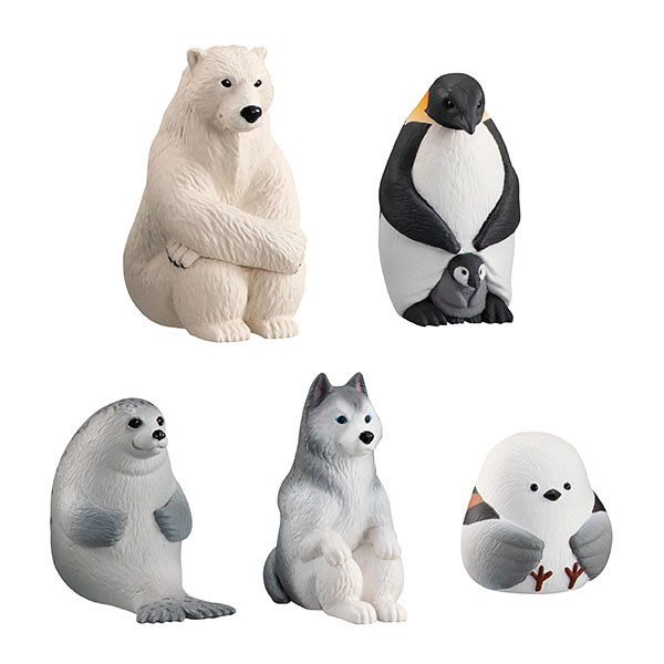 GASHAPON「等待中的動物4」第四彈轉蛋 在冰天雪地中繼續苦苦守候!